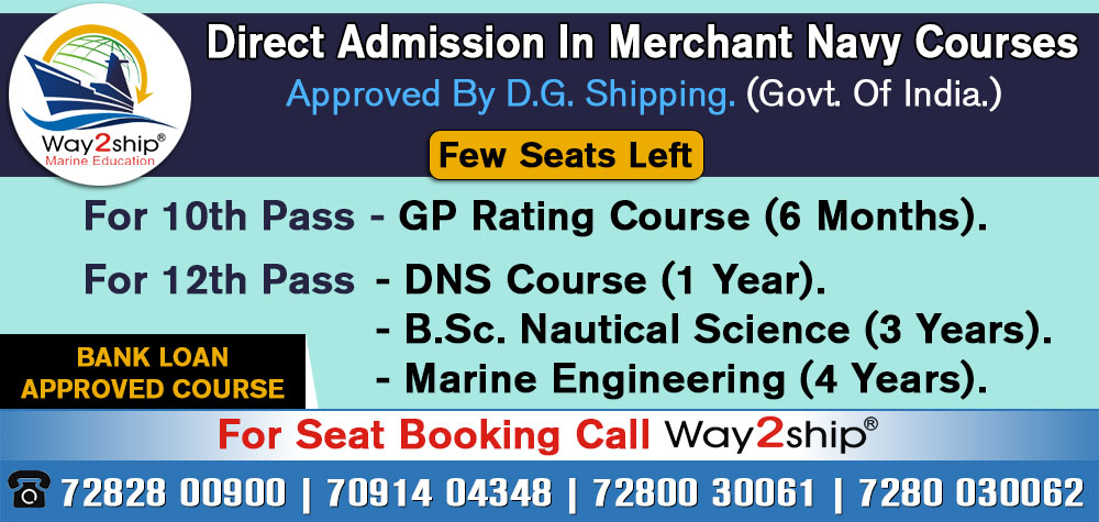 Merchant Navy Admission Notifications -2019
